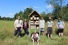 Insektenhotel Streuobstwiese OGV